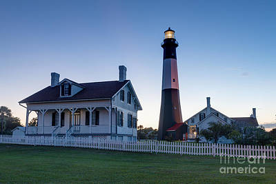 Tybee Island Lighthouse Print by Patrick Shupert