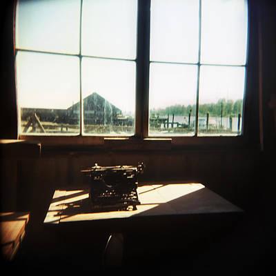 Typewriter Original by Claudia Katz