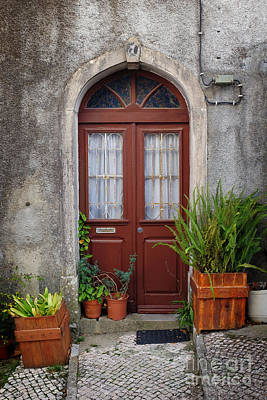 Front Steps Photograph - Typical Door by Carlos Caetano