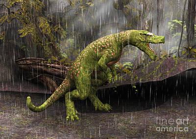 Digital Art - Tyrannosaurus Rex by Design Windmill