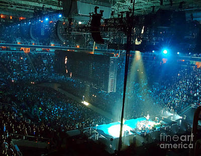 U2 Digital Art -  U2 Innocence And Experience Tour 2015 Opening At San Jose. 1 by Tanya Filichkin