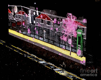 U2 Digital Art - U2 Innocence And Experience Tour 2015 Opening At San Jose. 3 by Tanya Filichkin