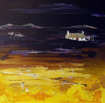 Uist Crofts Original by Peter Tarrant