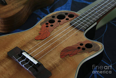 Ukulele Photograph - Ukulele by Sharon Mau