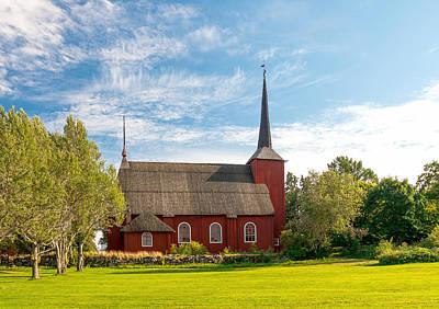 Eleonora Photograph - Ulrica Eleonora's Church In Kristinestad Finland by Sergey Pro