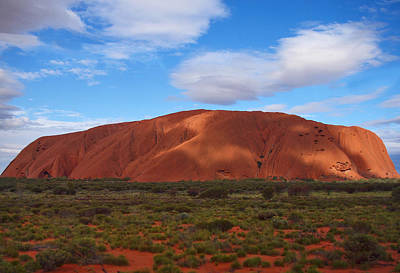 Uluru Print by Pamela Kelly Phillips