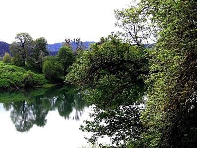 Umpqua River Print by Will Borden