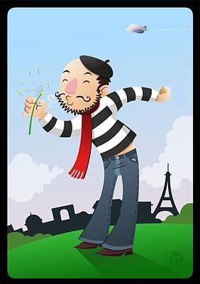 Un Berny En Paris Original by Javier Bernardino
