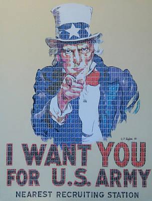 Uncle Sam Original by Gary Hogben