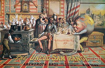 Uncle Sam Range Ad, 1876 Print by Granger