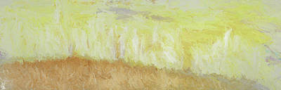 Under A Yellow Sky Print by Francesca Borgo