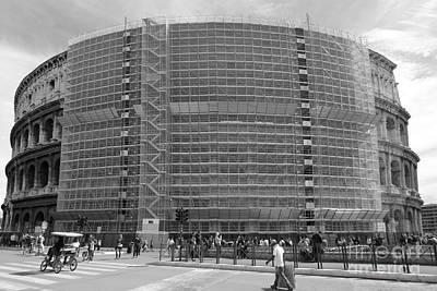 Work In Progress Photograph - Under Construction... Please Wait by Stefano Senise