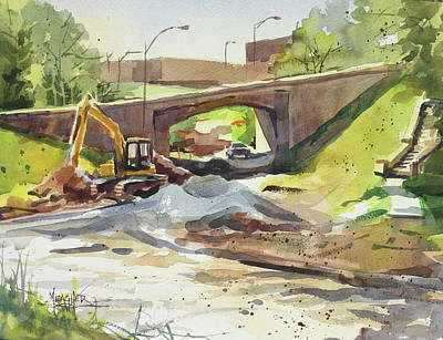 Under Construction Original by Spencer Meagher