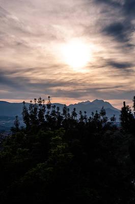 Italian Landscape Photograph - Under Flaming Skies 2 by Andrea Mazzocchetti