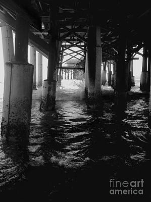 Photograph - Under The Boardwalk by Robin Lewis