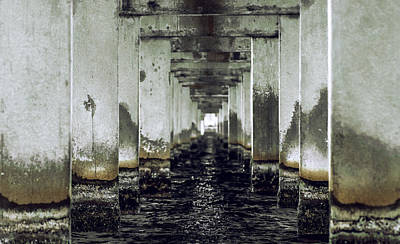 Architecture Photograph - Under The Bridge by Michael Frizzell