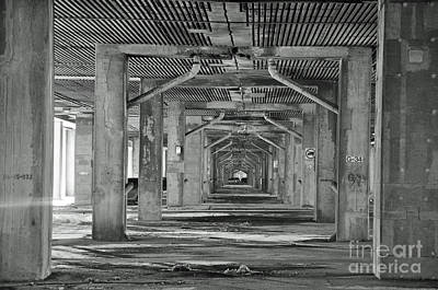 Streets Of Montreal Photograph - Under The Overpass by Reb Frost