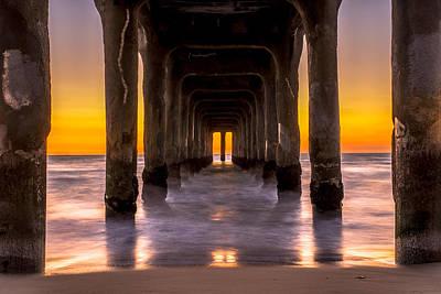 Under The Pier Print by Art K