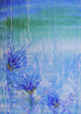 Acquamarine Painting - Under The Sea by Sharmila L
