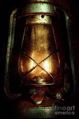 Miner Photograph - Underground Mining Lamp  by Jorgo Photography - Wall Art Gallery