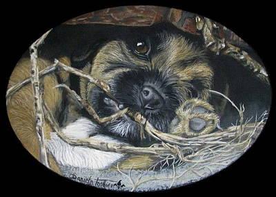 Underground Pup Print by Daniele Trottier