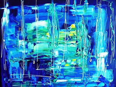 Abstractz Painting - Understandingz by Piety Dsilva