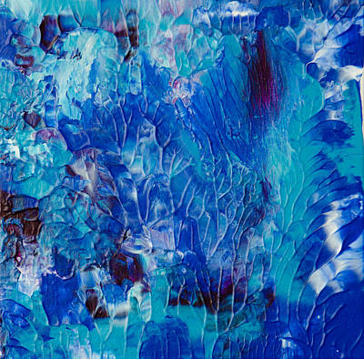 Scuba Painting - Underwater Reef # 1 by Deb Breton