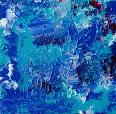 Scuba Painting - Underwater Reef #2 by Deb Breton