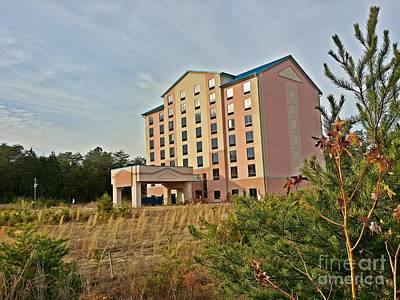 Lender Photograph - Unfinished Best Western Hotel by Ben Schumin