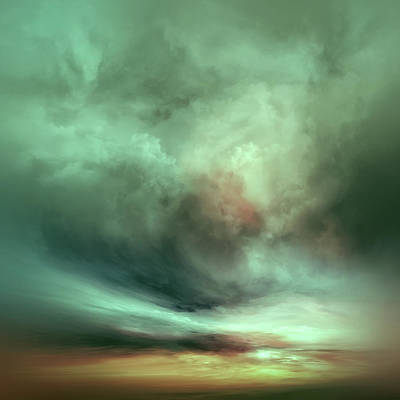 Jmw Painting - Unfolding by Lonnie Christopher