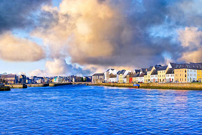 Unforgettable Galway Seaside Print by Mark E Tisdale