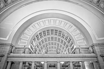 Union Station Washington Dc Print by Susan Candelario