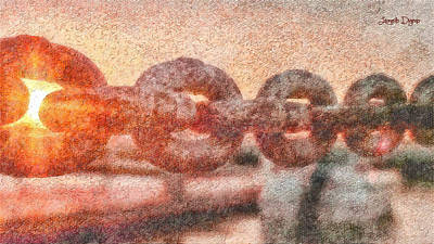 Tide Painting - United - Pa by Leonardo Digenio