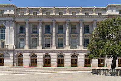 University Of California Berkeley Historic Ide Wheeler Hall Dsc4060 Print by Wingsdomain Art and Photography