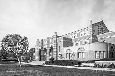 University Of California Photograph - University Of California Los Angeles Kaufman Hall by University Icons