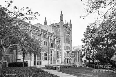 University Of California Photograph - University Of California Los Angeles Kerckhoff Hall by University Icons