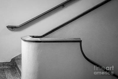 University Of California Photograph - University Of California Los Angeles Murphy Hall Stairway by University Icons