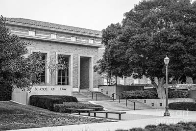University Of California Photograph - University Of California Los Angeles School Of Law by University Icons