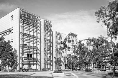 University Of California Photograph - University Of California San Diego Bioengineering  by University Icons
