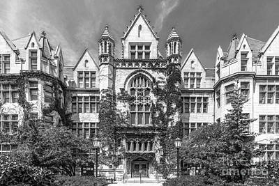 Cobb Photograph - University Of Chicago Cobb Hall by University Icons