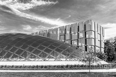 University Of Chicago Mansueto Library Print by University Icons