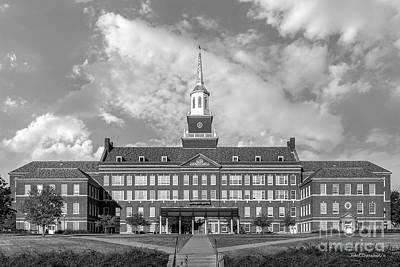 Oh Photograph - University Of Cincinnati Mc Micken Hall by University Icons