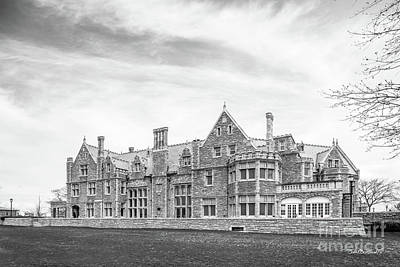 University Of Connecticut Avery Point Branford  Print by University Icons