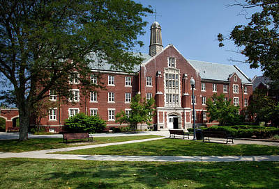Uconn Photograph - University Of Connecticut by Mountain Dreams