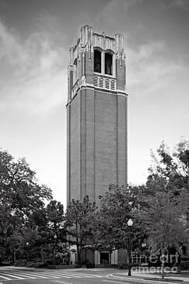 University Of Florida Century Tower Print by University Icons