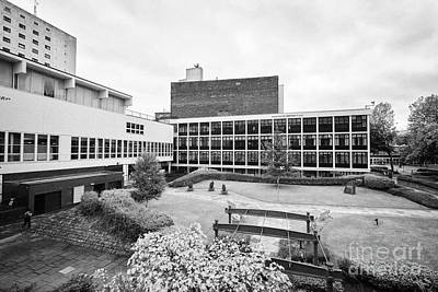 Student Union Photograph - University Of Manchester Campus And Meeting Place England Uk by Joe Fox