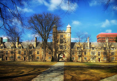 University Of Michigan School Of Law Print by Mountain Dreams