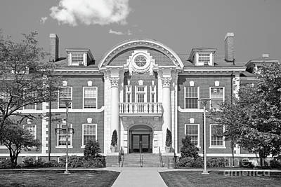 University Of New Haven Maxcy Hall Print by University Icons
