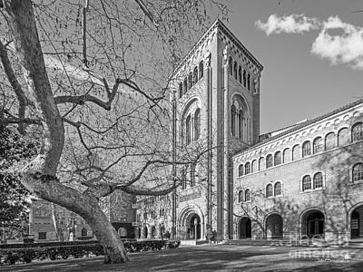 University Of Southern California Administration Building Print by University Icons