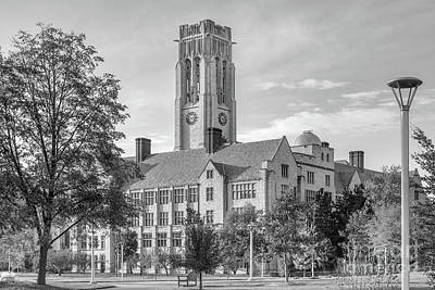 Ohio Photograph - University Of Toledo University Hall by University Icons